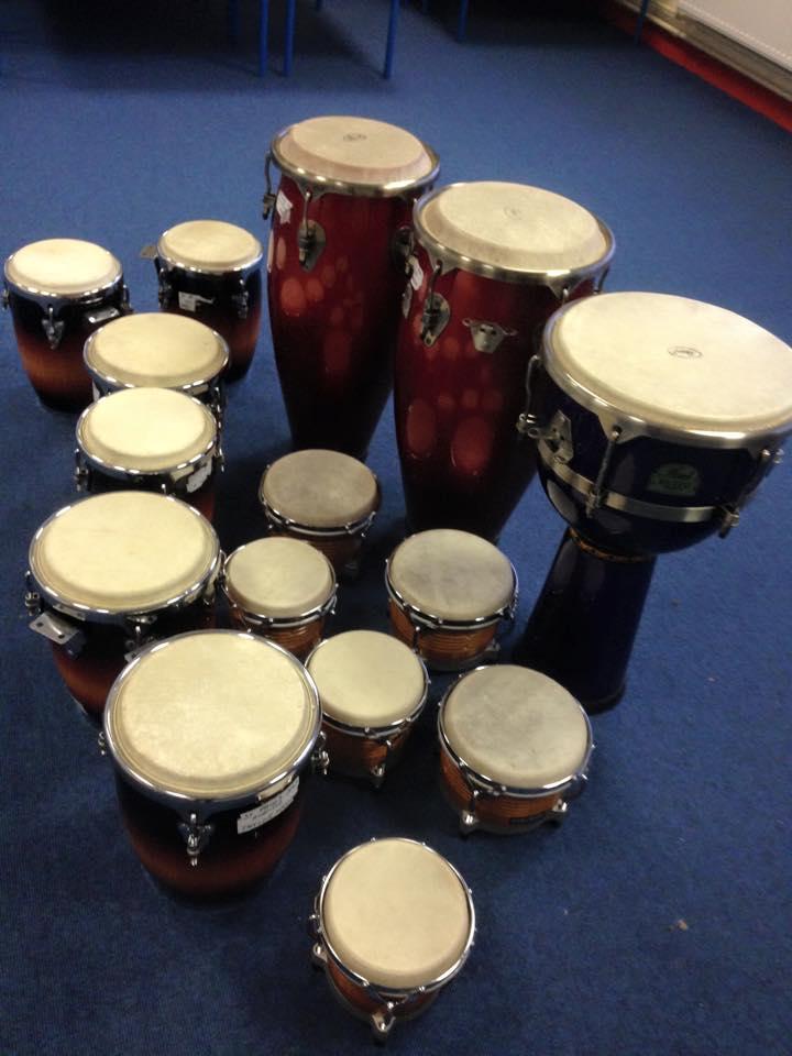 TY drumming workshops for schools