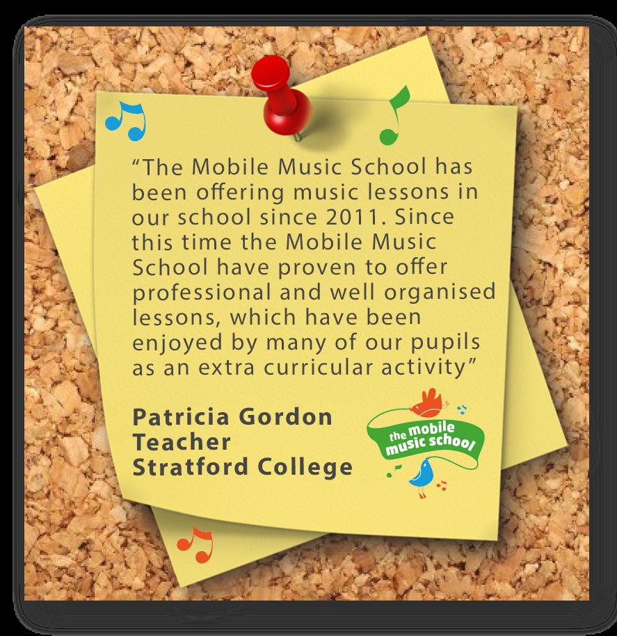 Mobile Music School piano lessons
