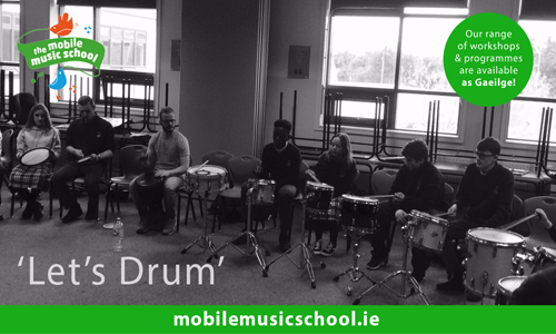 'Let's Drum': Pipers Hill College TY workshop