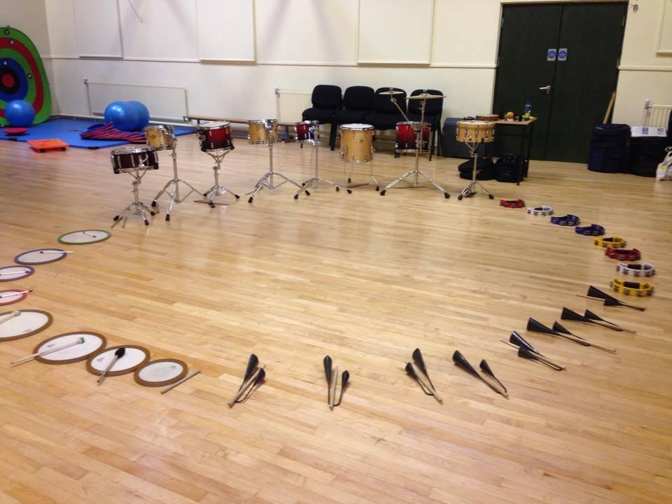 Mobile Music School TY Workshop - 'Let's Drum' Drumming Workshop