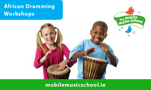 African Drumming Workshops for Schools