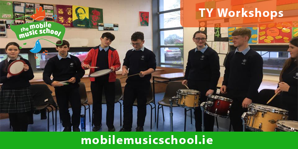 TY Workshops – Music in Secondary Schools