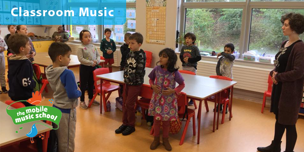 Fun-filled Classroom Music with Portlaoise Educate Together NS