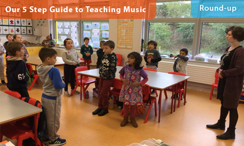 Our 5 Step Guide to Teaching Music – Round-up