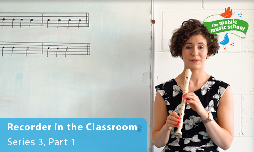 MMS Tutor How-to Guides: Recorder in the Classroom – Series 3, Part 1