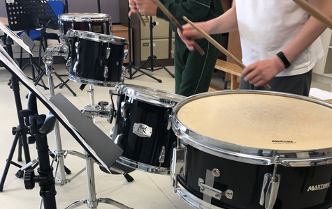 Drumming workshops for Secondary Schools: Patrician Secondary School