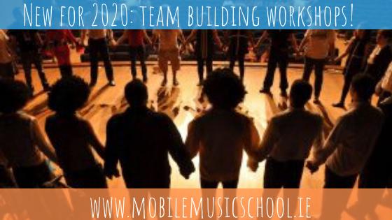 NEW for 2020- Team Building Workshops!