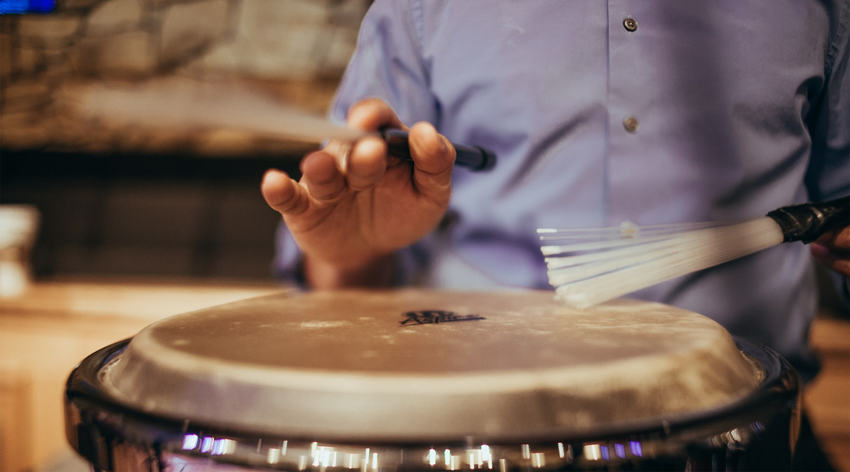 TY Workshops: Let's Drum in Mountmellick Community School