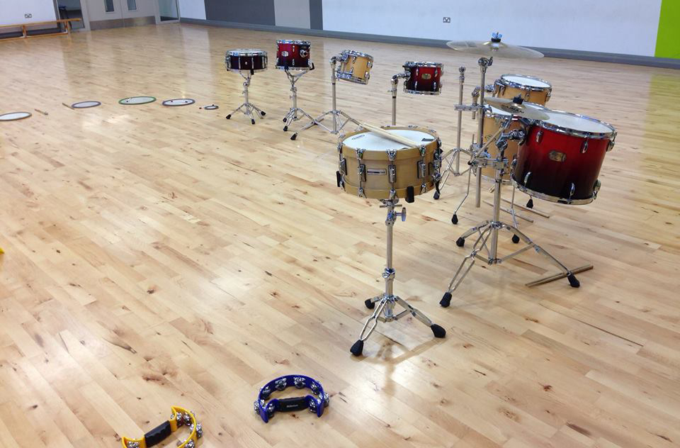Transition Year Workshops: Let's Drum in Gonzaga College
